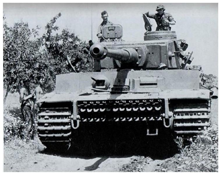 Tiger I Nr. 131 - s Pzbat 504 en Tunisie